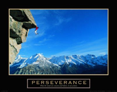 Rock Climber Climbing Motivational