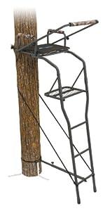 Amazon Com Ameristep Gunner Ladder Stand 16 Feet