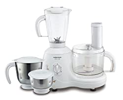 Morphy Richards Select 600-Watt Food Processor (White)