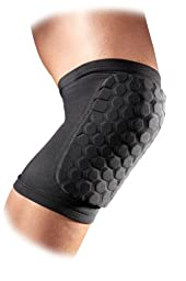 McDavid 6440 Hexpad Knee Or Elbow (Black, XSmall)