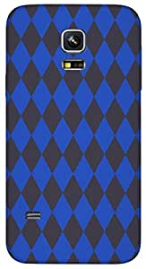 Timpax protective Armor Hard Bumper Back Case Cover. Multicolor printed on 3 Dimensional case with latest & finest graphic design art. Compatible with Samsung Galaxy S-5-Mini Design No : TDZ-22214