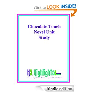 The Chocolate Touch Novel Unit Study Teresa Ives Lilly