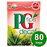 PG Tips Decaf 80s Pyramid Teabags 80 per pack
