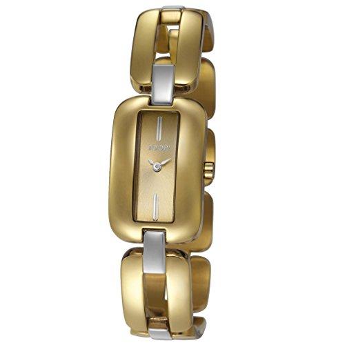 Joop! JP101492003 - Reloj para mujeres, correa de acero inoxidable chapado color dorado