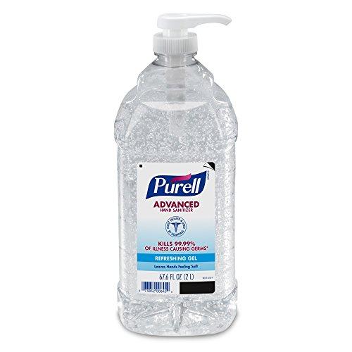 PURELL Advanced Instant Hand Sanitizer - 2L Pump Bottle, Original - 1 Bottle (2 Litre Bottle compare prices)