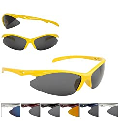 12 Pack Super Light Triathlon Running Baseball Sunglasses by CTSS
