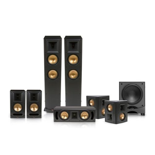 Klipsch Rf-600 Reference Series 7.1 Home Theater Speaker System - Limited Edition (Black)