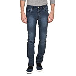 Ruace men's Regular fit Grey jeans