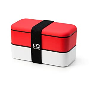 monbento original bento box red white. Black Bedroom Furniture Sets. Home Design Ideas