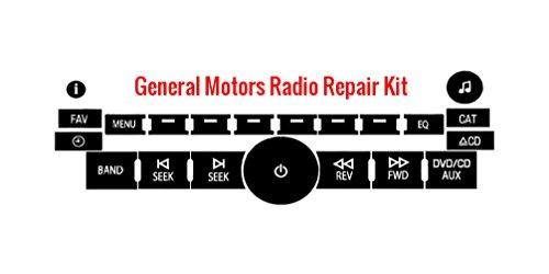 gmc-yukon-radio-button-repair-kit-for-chevy-tahoe-chevy-silverado-suburban-sierra-avalanche-cadillac