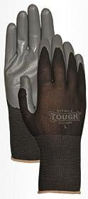Bellingham Nitrile Tough Glove, Black, Large