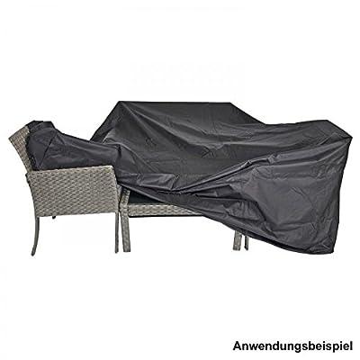 Schutzhülle extra stark 215x170x100cm schwarz für lange Sitzgruppen von LESLI Living auf Gartenmöbel von Du und Dein Garten