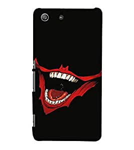 EPICCASE Evil Laugh Mobile Back Case Cover For Sony Xperia M5 (Designer Case)