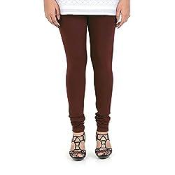 Vami Cotton Churidar Leggings in Deep Plum Color _VM1001(19)