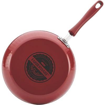 Farberware New Traditions Aluminum Nonstick 12-Piece Cookware Set.