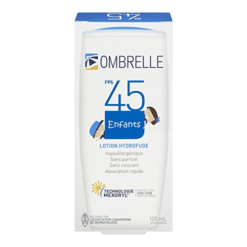 OMBRELLE KIDS ,Ombrelle Lotion SPF 45,Mexoryl Technology 120ml / 4 oz