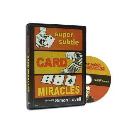 Magic Makers Super Subtle Card Miracles DVD