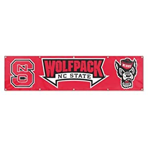 Buy NCAA North Carolina State Wolfpack 8 Foot Banner by Party Animal