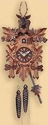 Engstler Musical Quartz Hunter Cuckoo Clock 12\