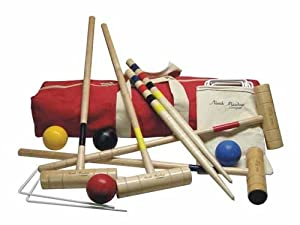 Buy Rockport Croquet Set By North Meadow by North Meadow Croquet