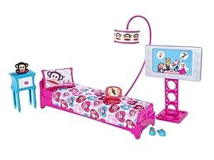 barbie loves paul frank bedroom playset julius the monkey