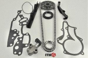 ITM Engine Components 053-94000 Timing Chain Set (1985-1995 Toyota 2.4L L4 22R/22RE/22REC /22RTEC) (Toyota 22re Distributor compare prices)