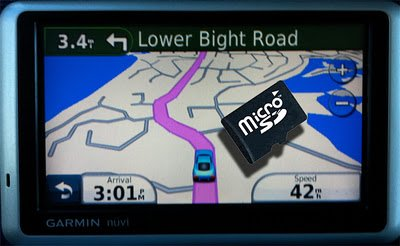 Costa Rica GPS Map (SD Memory Card / Garmin Compatible)
