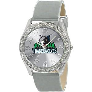 Game Time NBA-GLI-MIN Minnesota Timberwolves Glitz Series Watch by Game Time