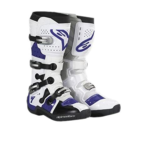 Alpinestars - Bottes cross - TECH 7 - Couleur : Blanc - Pointure : 10