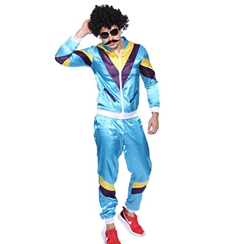 Mens Scousers Harry Enfield Shellsuit Tracksuit Costume in sizes M, L or XL