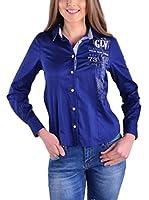 Galvanni Camisa Mujer Trescem (Azul Marino)