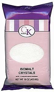 Isomalt Crystals Bag: 1 LBS