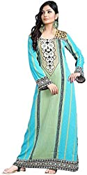 TrendyFashionMall Women's Printed Kaftans Abayas Multiple Colors & Designs