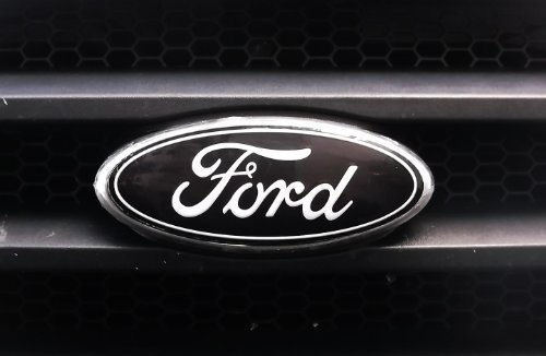 Black Ford Emblem Fusion >> Ford Fusion Black Colored Grill Emblem Decal Vinyl Overlay