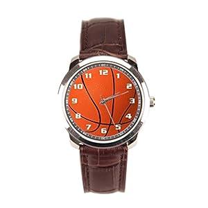 Dr. Koo Basket Mens Brown Leather Watch Making A Basket Mens Brown Leather Watch