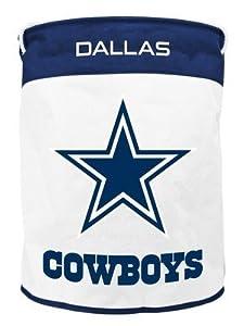 NFL Dallas Cowboys Foldable Canvas Laundry Basket by Duck House