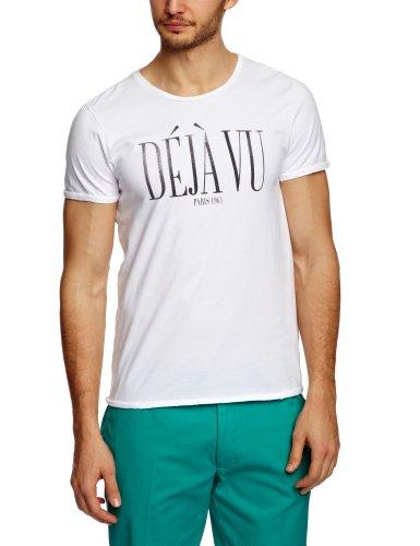 Scotch & Soda French Inspirated Printed Men's T-Shirt Chalk White X-Large