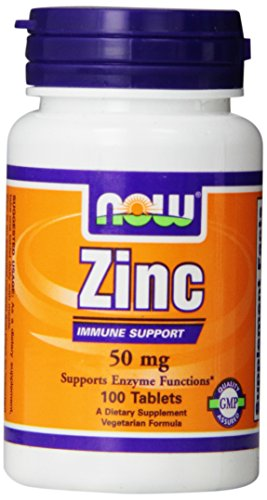 Now Foods, Zink Gluconat - 100 Tabletten 50mg