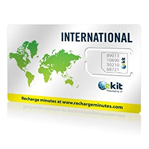 Telestial Passport Plus International SIM Card with $10.00 Credit for 190 countries images