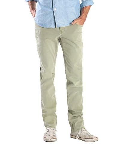 Stitch's Men's Slim Fit Twill Pants