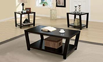 Union Square The Brian Collection End Table and Coffee Table 3 Piece Set