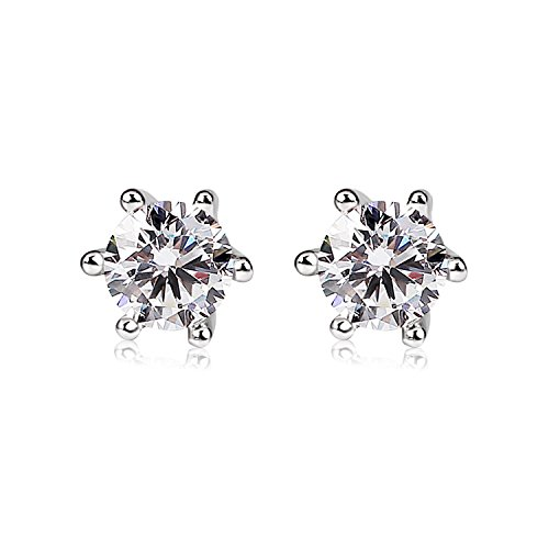 bcatcher-925-sterling-silver-round-cut-cubic-zirconia-stud-earrings-sets