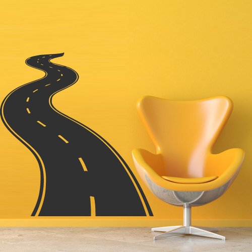 Wall Decal Decor Decals Art Road Track Car Band (M686)