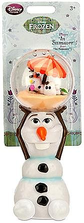 Exclusive Disney Store Frozen Olaf Musical Wand - Plays In Summer