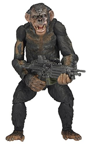 "NECA Dawn of The Planet of The Apes 7"" Scale Action Figure - Series 2 Koba with Machine Gun"