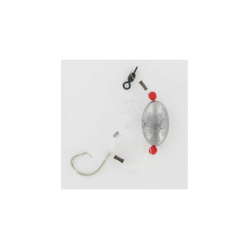 Circle Hook Grouper Rig 6oz with 11/0 Hook 150lb Mono Jamfab Jigs