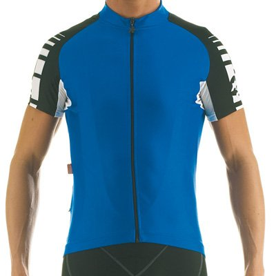 Buy Low Price Assos Men's SS.Uno Short Sleeve Cycling Jersey – Blue – 20.01.2 (B000Q6B1OM)