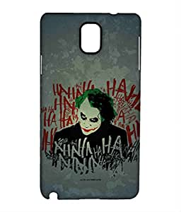 Jokers Laugh Phone Cover for Samsung Note 3 by Block Print Company