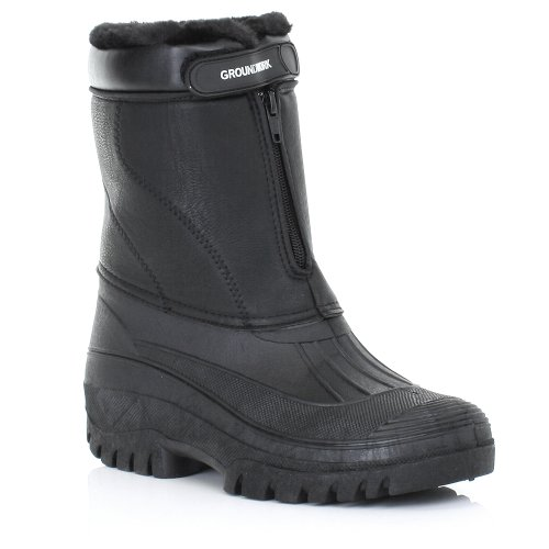 Mens Garden Mucker Wellies Warm Work Boots