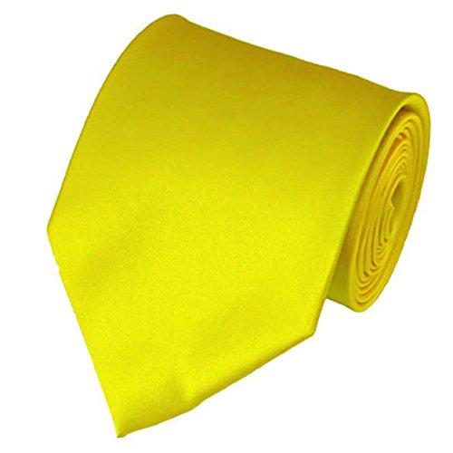 AimTrend Men's Neckties Elegant-Lemow Yellow (Men Ties Yellow compare prices)